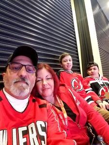 Carlos attended New Jersey Devils vs. Carolina Hurricanes - NHL on Feb 15th 2018 via VetTix