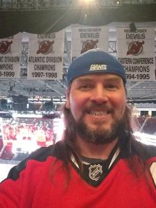 Thomas attended New Jersey Devils vs. Carolina Hurricanes - NHL on Feb 15th 2018 via VetTix