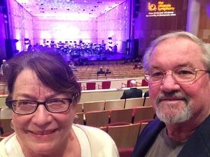 Franklin attended New Years Eve Celebration With Phoenix Symphony on Dec 31st 2017 via VetTix