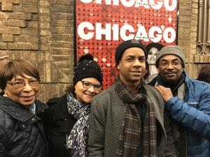 Eugene attended Chicago the Musical - Monday on Feb 12th 2018 via VetTix