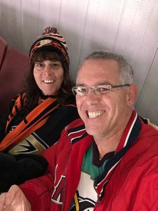 Gary attended Anaheim Ducks vs. San Jose Sharks - NHL - Antis Roofing Community Corner! on Jan 21st 2018 via VetTix