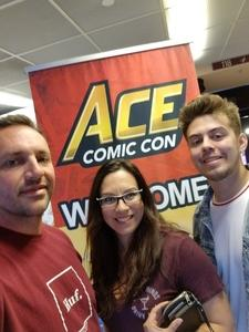 Thomas attended Ace Comic Con at Gila River Arena (tickets Only Good for Monday, January 15th) on Jan 15th 2018 via VetTix