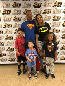 Tamerlane attended Ace Comic Con at Gila River Arena (tickets Only Good for Monday, January 15th) on Jan 15th 2018 via VetTix