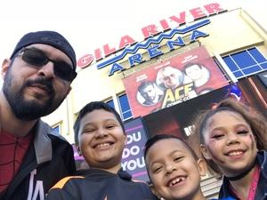 David attended Ace Comic Con at Gila River Arena (tickets Only Good for Monday, January 15th) on Jan 15th 2018 via VetTix