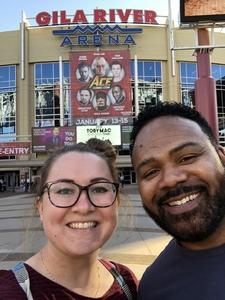 Ralphael attended Ace Comic Con at Gila River Arena (tickets Only Good for Monday, January 15th) on Jan 15th 2018 via VetTix