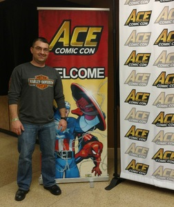 Alan attended Ace Comic Con at Gila River Arena (tickets Only Good for Monday, January 15th) on Jan 15th 2018 via VetTix