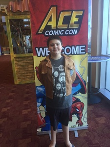 Scott attended Ace Comic Con at Gila River Arena (tickets Only Good for Monday, January 15th) on Jan 15th 2018 via VetTix