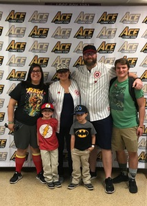 Josh attended Ace Comic Con at Gila River Arena (tickets Only Good for Monday, January 15th) on Jan 15th 2018 via VetTix