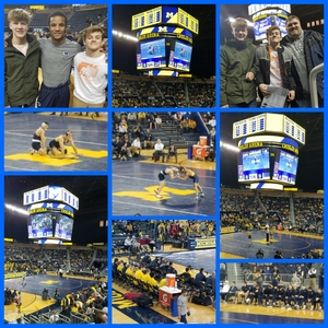 Adam attended University of Michigan vs. Penn State - NCAA Wrestling on Jan 12th 2018 via VetTix