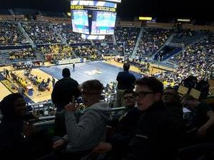 Cory attended University of Michigan vs. Penn State - NCAA Wrestling on Jan 12th 2018 via VetTix