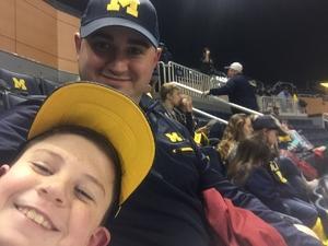 Adrian attended University of Michigan vs. Penn State - NCAA Wrestling on Jan 12th 2018 via VetTix