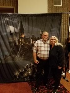 James attended Harry Potter and the Chamber of Secrets in Concert - Friday on Jan 5th 2018 via VetTix