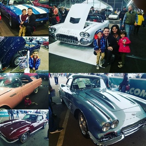 Heriberto attended Barrett Jackson - the Worlds Greatest Collector Car Auctions - Saturday Jan 20th Only on Jan 20th 2018 via VetTix