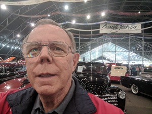 Charles attended Barrett Jackson - the Worlds Greatest Collector Car Auctions - Saturday Jan 20th Only on Jan 20th 2018 via VetTix