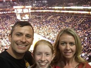 Matthew attended Phoenix Suns vs. Houston Rockets - NBA on Jan 12th 2018 via VetTix