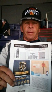 Paul attended Phoenix Suns vs. Houston Rockets - NBA on Jan 12th 2018 via VetTix