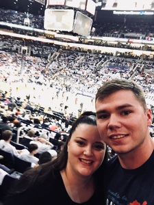 James attended Phoenix Suns vs. Houston Rockets - NBA on Jan 12th 2018 via VetTix