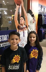 Alex attended Phoenix Suns vs. Houston Rockets - NBA on Jan 12th 2018 via VetTix