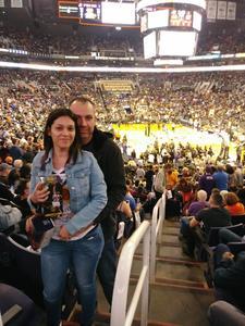 Edgar attended Phoenix Suns vs. Houston Rockets - NBA on Jan 12th 2018 via VetTix