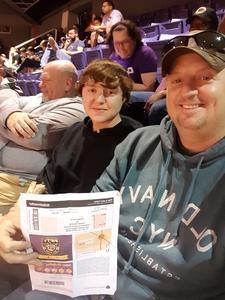 Douglas attended Phoenix Suns vs. Houston Rockets - NBA on Jan 12th 2018 via VetTix