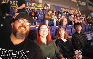 Julian attended Phoenix Suns vs. Houston Rockets - NBA on Jan 12th 2018 via VetTix