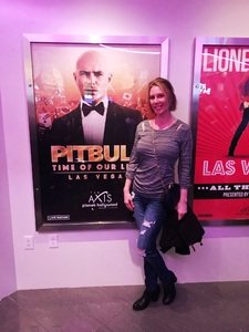 Sherry attended Pitbull - Time of Our Lives on Jan 24th 2018 via VetTix