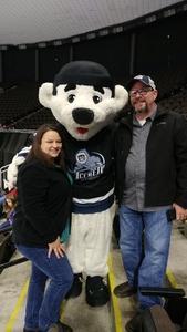 Daniel attended Jacksonville Icemen vs. Greenville Swamp Rabbits - ECHL on Jan 27th 2018 via VetTix
