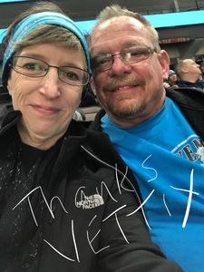 David attended Jacksonville Icemen vs. Greenville Swamp Rabbits - ECHL on Jan 27th 2018 via VetTix
