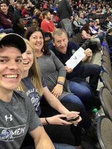 Franklin attended Jacksonville Icemen vs. Greenville Swamp Rabbits - ECHL on Jan 27th 2018 via VetTix
