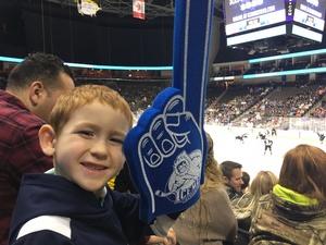 Justin attended Jacksonville Icemen vs. Greenville Swamp Rabbits - ECHL on Jan 27th 2018 via VetTix