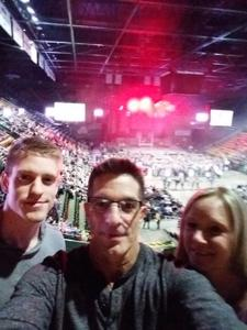 Pat attended Brantley Gilbert: the One's That Like Me Tour on Feb 15th 2018 via VetTix