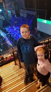 Ethan attended Walk the Moon - Press Restart Tour on Jan 20th 2018 via VetTix