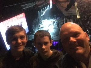 Mark attended Walk the Moon - Press Restart Tour on Jan 20th 2018 via VetTix