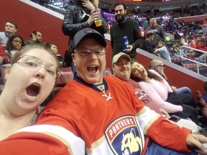 Andrew attended Florida Panthers vs. Calgary Flames - NHL on Jan 12th 2018 via VetTix