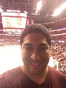 Cristian attended Florida Panthers vs. Calgary Flames - NHL on Jan 12th 2018 via VetTix