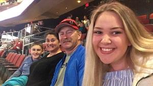 AJ attended Arizona Coyotes vs. Dallas Stars - NHL on Feb 1st 2018 via VetTix