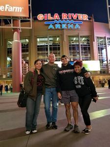 Dean attended Arizona Coyotes vs. Dallas Stars - NHL on Feb 1st 2018 via VetTix