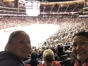 Teresa attended Arizona Coyotes vs. San Jose Sharks - NHL on Jan 16th 2018 via VetTix