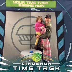 Matthew attended Discover the Dinosaurs - Time Trek - Presented by Vstar Entertainment on Jan 21st 2018 via VetTix