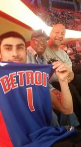 Joseph attended Detroit Pistons vs. New Orleans Pelicans - NBA on Feb 12th 2018 via VetTix