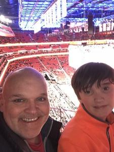 Andy attended Detroit Pistons vs. New Orleans Pelicans - NBA on Feb 12th 2018 via VetTix