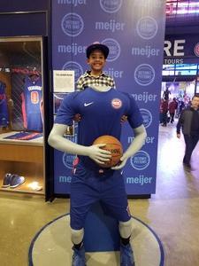 Daniel attended Detroit Pistons vs. New Orleans Pelicans - NBA on Feb 12th 2018 via VetTix