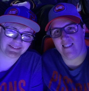 Sarah attended Detroit Pistons vs. Chicago Bulls - NBA on Mar 9th 2018 via VetTix