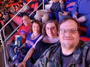 Robbie attended Detroit Pistons vs. Chicago Bulls - NBA on Mar 9th 2018 via VetTix