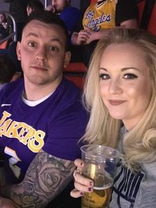 Jeremy attended Detroit Pistons vs. LA Lakers - NBA on Mar 26th 2018 via VetTix