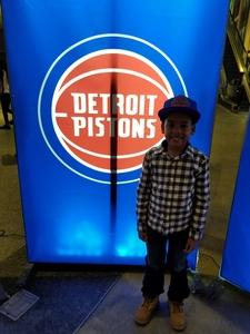 Daniel attended Detroit Pistons vs. LA Lakers - NBA on Mar 26th 2018 via VetTix
