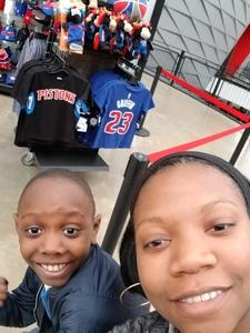 Jasbrial attended Detroit Pistons vs. LA Lakers - NBA on Mar 26th 2018 via VetTix