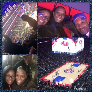 Nicole attended Detroit Pistons vs. Dallas Mavericks - NBA on Apr 6th 2018 via VetTix