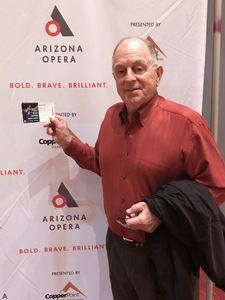 Larry attended Phoenix Symphony Hall Presents: Candide by Leonard Bernstein on Feb 3rd 2018 via VetTix