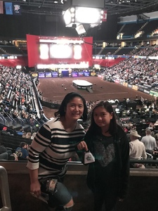 Ruth attended PBR - 25th Anniversary - Unleash the Beast - Tickets Good for Sunday Only. on Jan 21st 2018 via VetTix